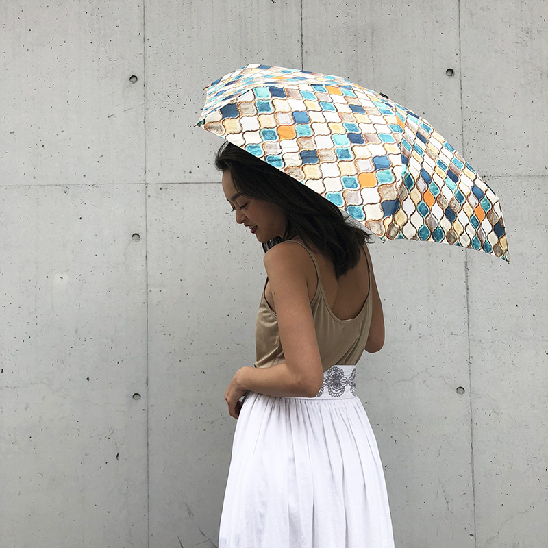 MOSAIC TILE Compact Umbrella(モザイクタイル, FREE)