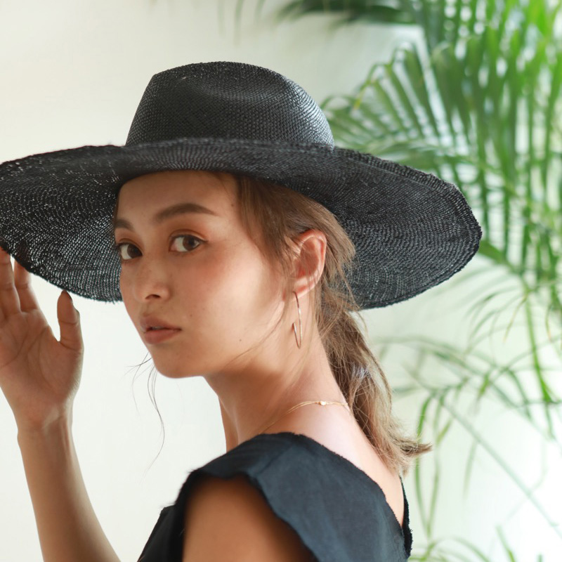 SEA STRAW WIDE HAT